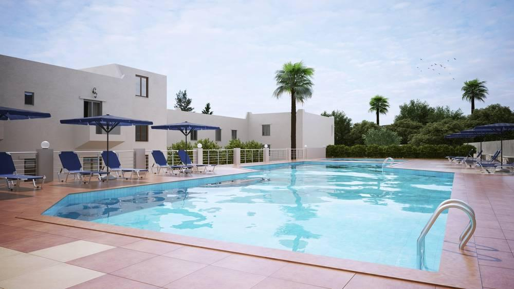 Holidays at Dimitra Hotel in Hersonissos, Crete