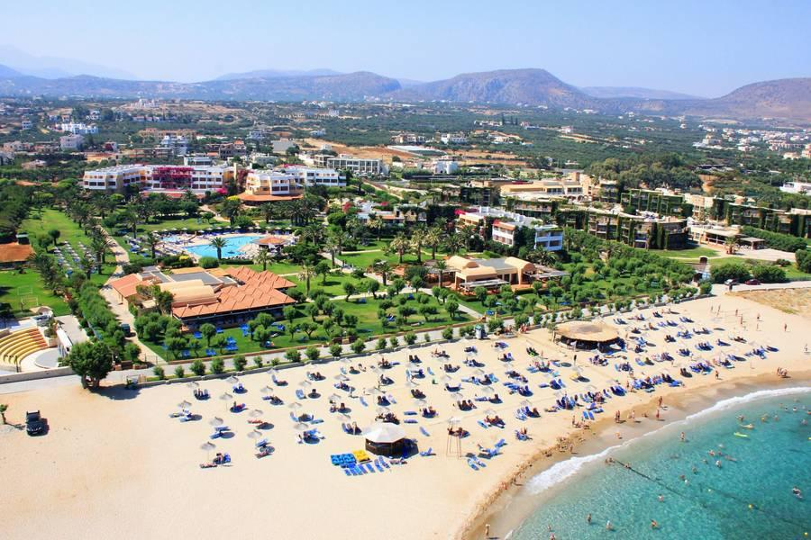 Holidays at Anissa Beach Hotel in Anissaras, Hersonissos
