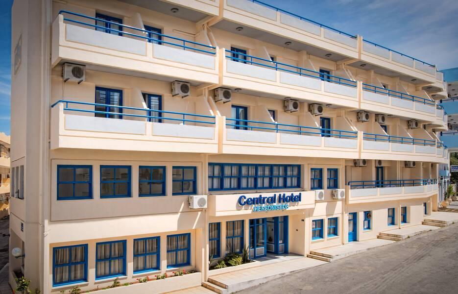 Hersonissos Central Hotel  Hersonissos  Crete  Greece