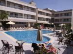 Swimming Pool and Sun Terrace at Agela Hotel