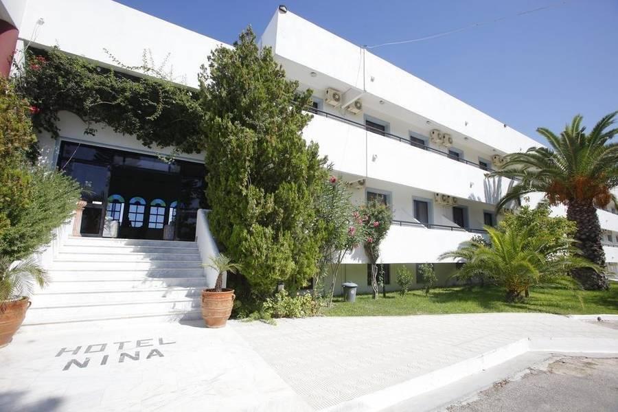 Holidays at Nina Beach Hotel in Marmari, Kos