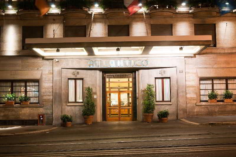 Holidays at Bettoja Hotel Atlantico in Rome, Italy