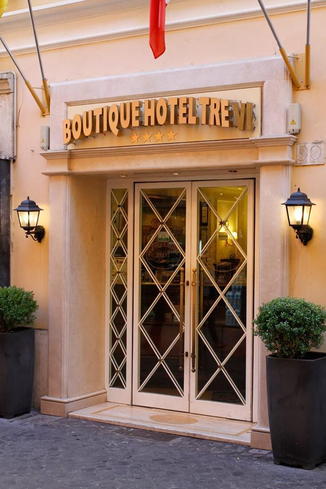 Holidays at Boutique Hotel Trevi in Rome, Italy