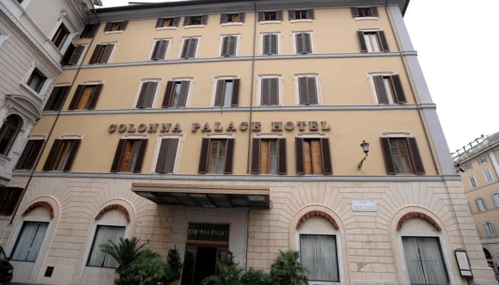 Holidays at Colonna Palace Hotel in Rome, Italy