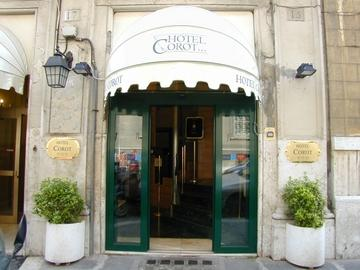 Holidays at Corot Hotel in Rome, Italy