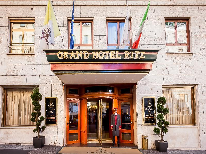 Holidays at Grand Hotel Ritz in Rome, Italy