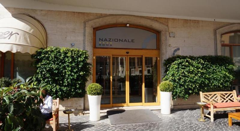 Holidays at Nazionale Hotel in Rome, Italy