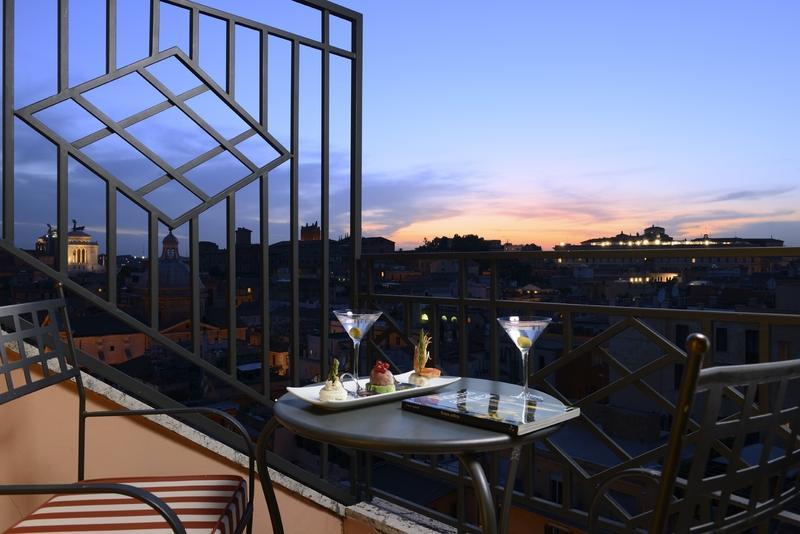 Holidays at Grand Hotel Palatino in Rome, Italy