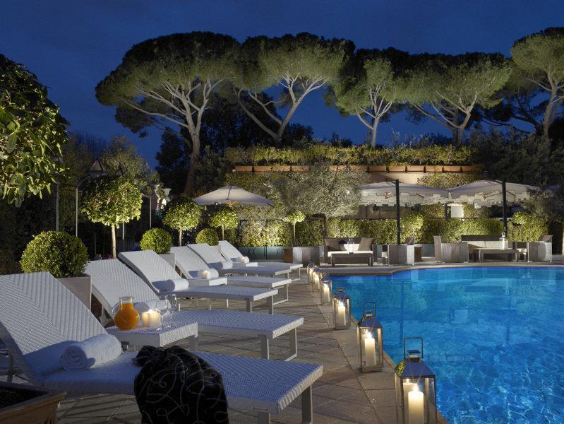 Grand Hotel Parco Dei Principi Rome Italy Book Grand