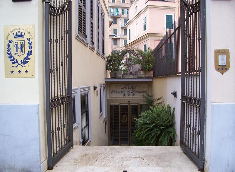 Holidays at Principe Di Piemonte Hotel in Rome, Italy
