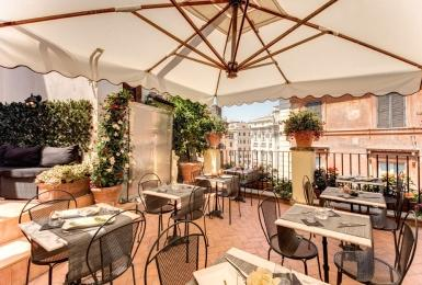 Holidays at Relais Fontana Di Trevi Hotel in Rome, Italy