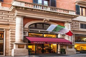 Holidays at Cosmopolita Hotel in Rome, Italy