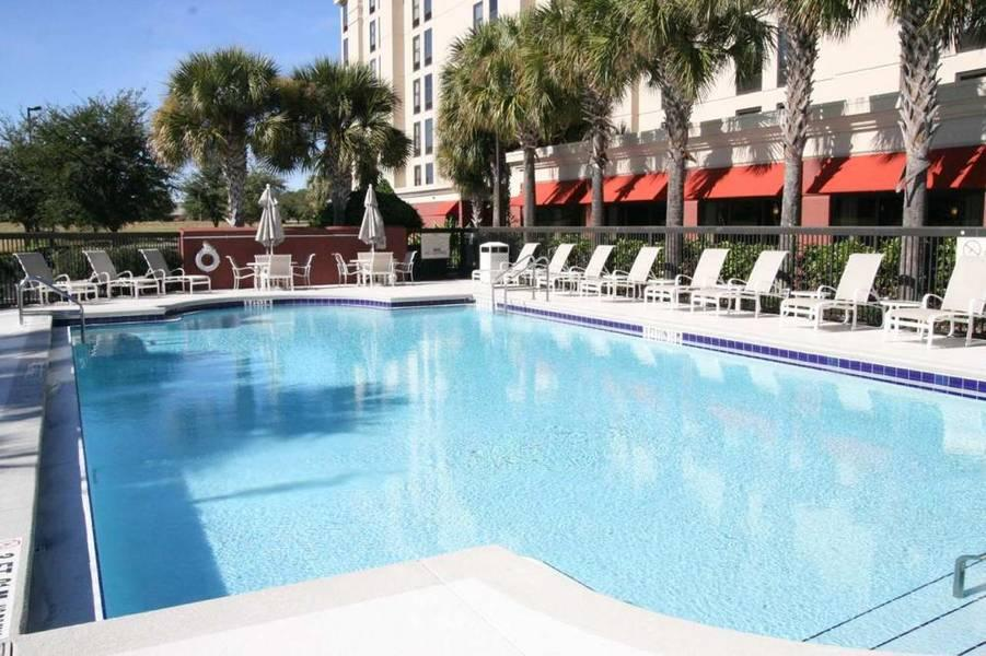 Holidays at Hampton Inn International Dr Convention Center Hotel in Orlando International Drive, Florida