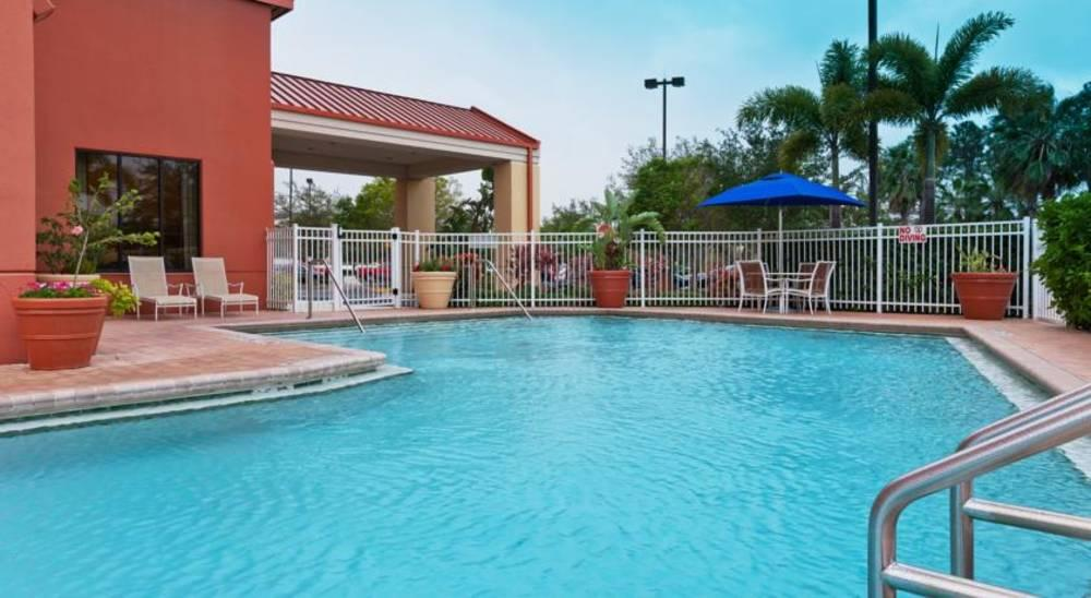 Holidays at Holiday Inn Express Hotel & Suites Universal in Orlando International Drive, Florida