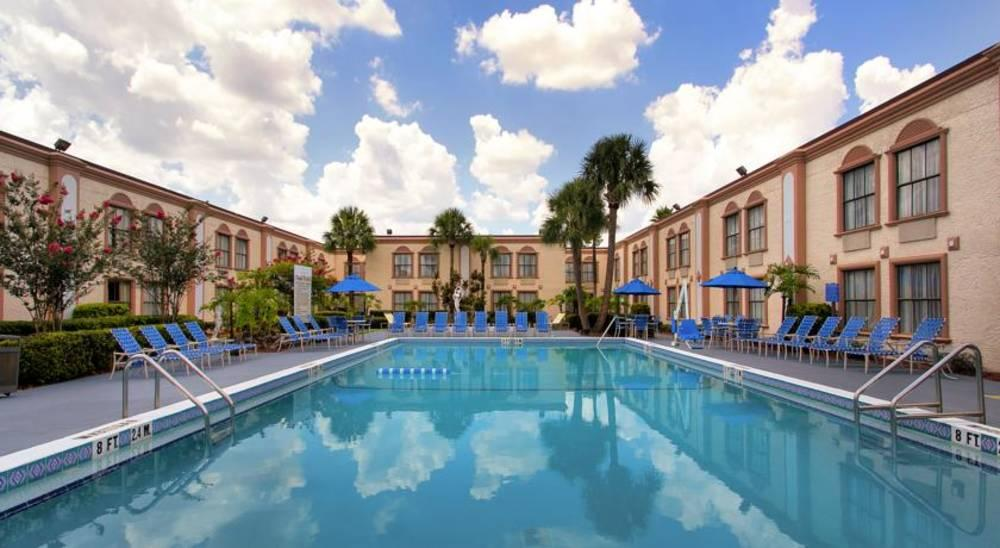 Holidays at La Quinta Inn International Drive North Hotel in Orlando International Drive, Florida