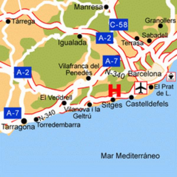 Holidays at Piccadilly Sitges Hotel in Sitges, Costa Dorada