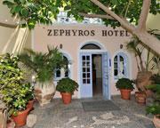Holidays at Zephyros Hotel in Kamari, Santorini