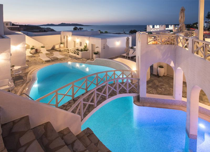 Kanales Hotel Naoussa Paros Greece Book Kanales Hotel