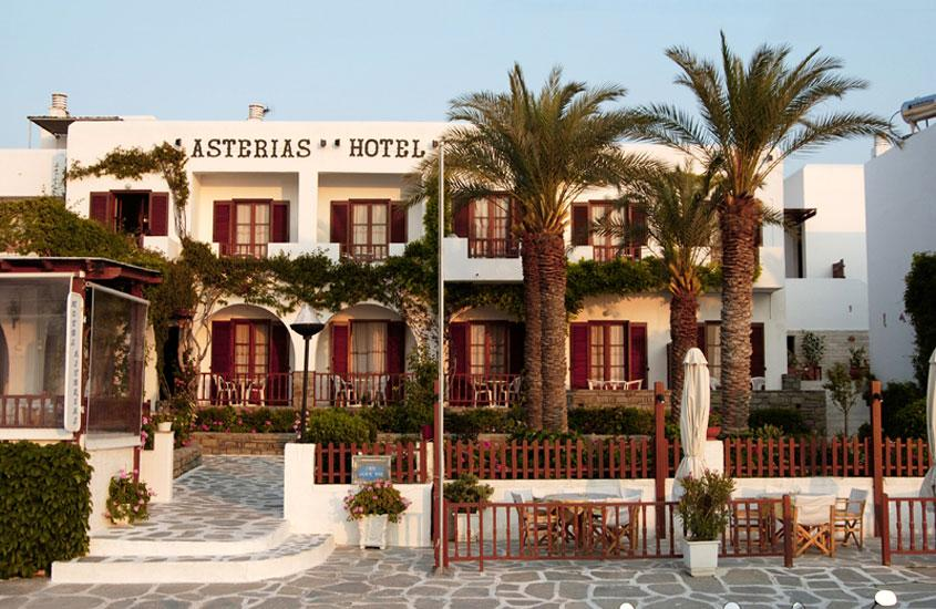 Holidays at Asterias Hotel in Parikia, Paros
