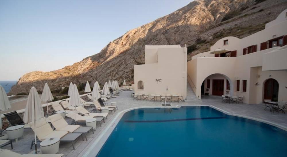 Holidays at Epavlis Hotel in Kamari, Santorini