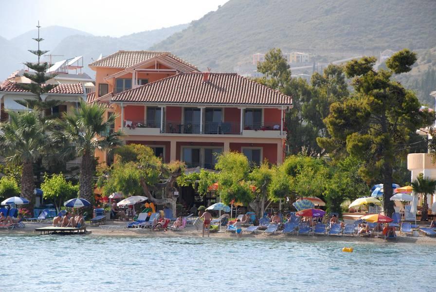 Holidays at Eva Beach Hotel in Nidri, Lefkas