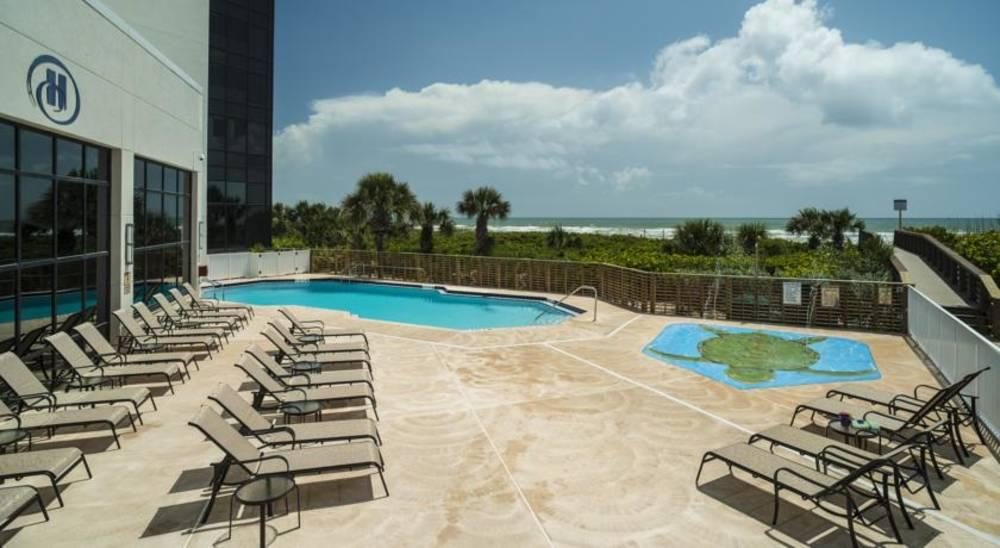 Holidays at Hilton Cocoa Beach Oceanfront Hotel in Cocoa Beach, Florida