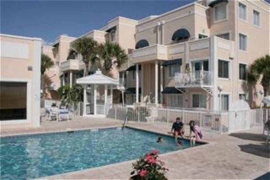 Holidays at Royal Mansions Oceanfront Condominium Resort Hotel in Cocoa Beach, Florida