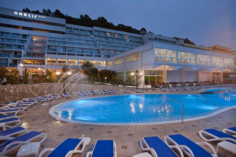 Holidays at Narcis Hotel in Rabac, Croatia