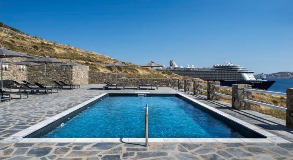 Holidays at Alkistis Hotel in Agios Stefanos, Mykonos
