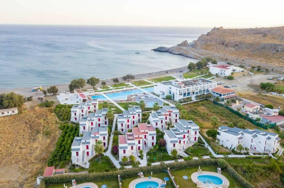 Holidays at Kamari Beach Hotel in Lardos, Rhodes