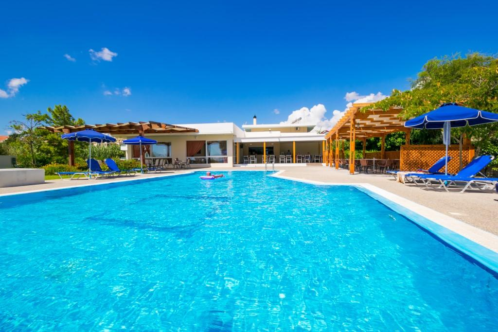 Holidays at Stafilia Beach Hotel in Lardos, Rhodes