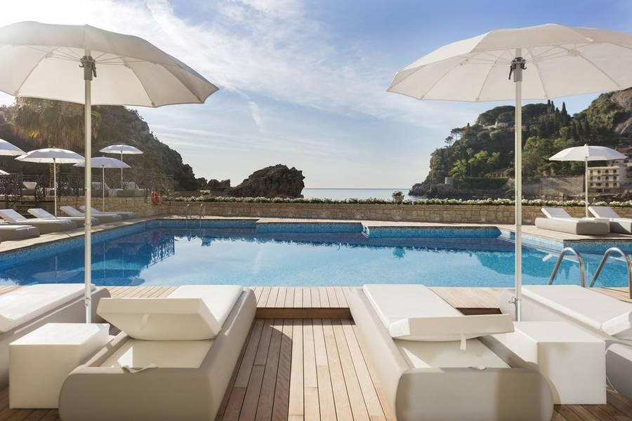 Holidays at Grand Hotel Mazzaro Sea Palace Hotel in Taormina Mare, Sicily