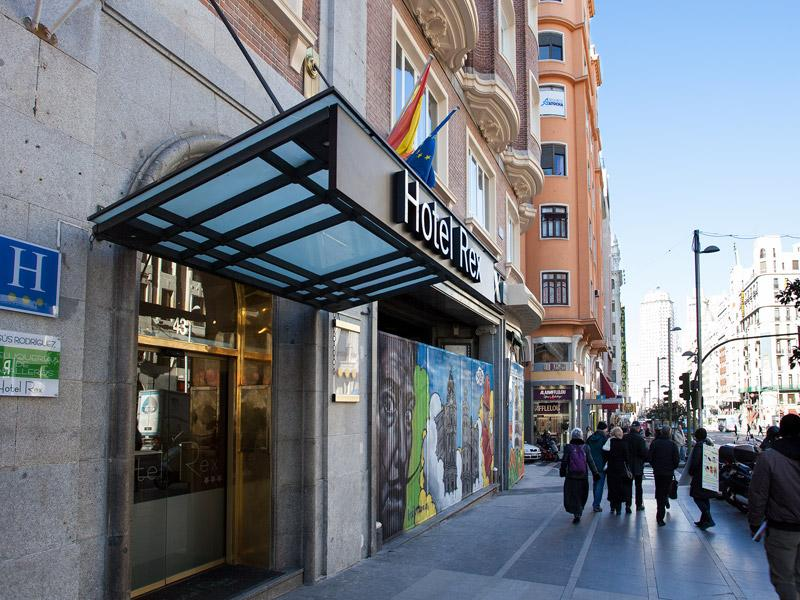 Holidays at Rex Hotel in Madrid, Spain