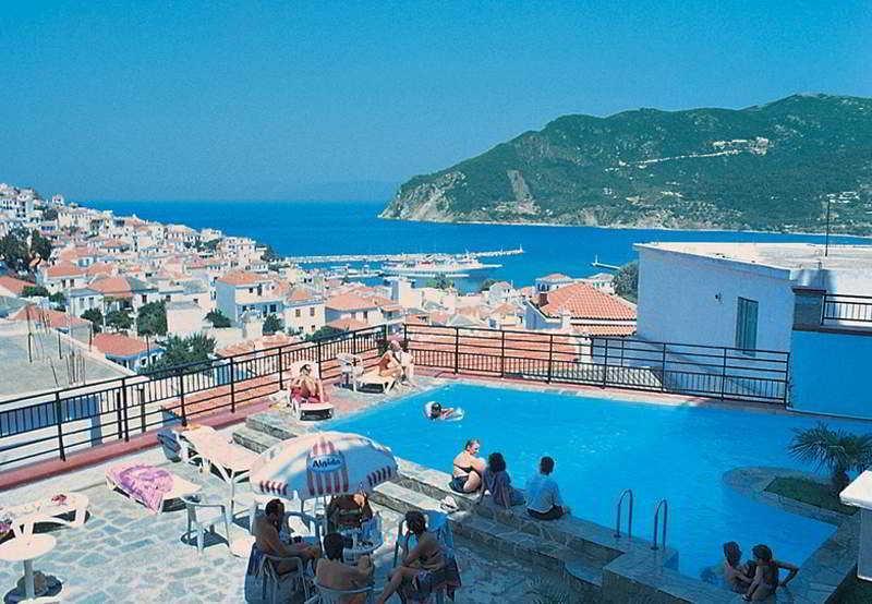 Holidays at Denise Hotel in Skopelos Town, Skopelos