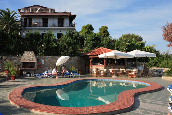 Holidays at Villa Melia Hotel in Megali Amos, Skiathos