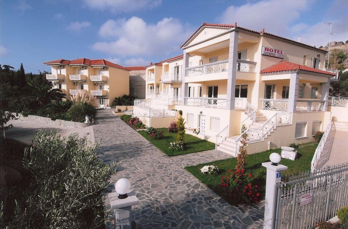 Holidays at Sotiris Apartments Hotel in Myrina, Lemnos