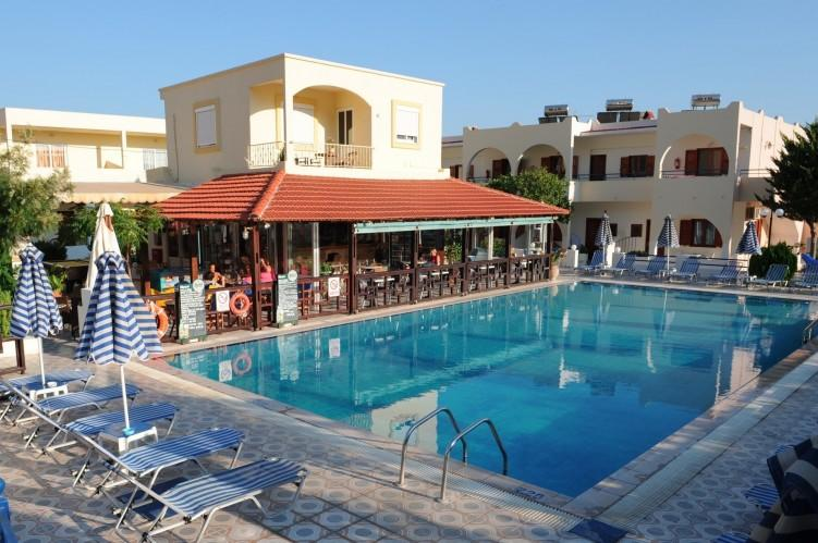 Holidays at Chrysanthi Apartments Hotel in Pefkos, Rhodes