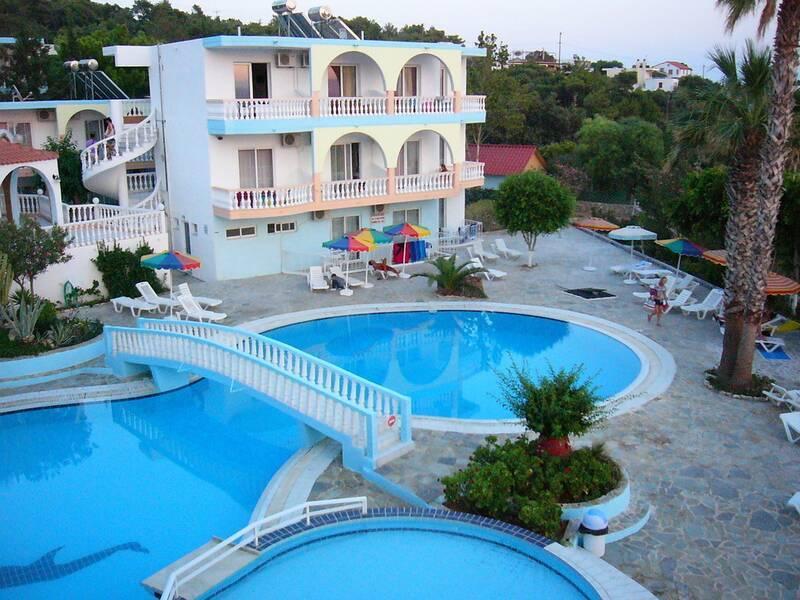 Holidays at Pefkos Garden Hotel in Pefkos, Rhodes