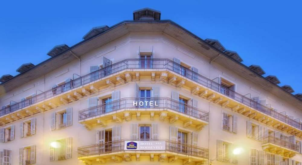 Holidays at Best Western Hotel Roosevelt in Nice, France