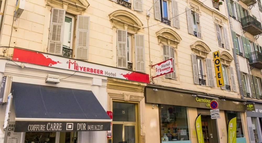 Holidays at Meyerbeer Beach Hotel in Nice, France