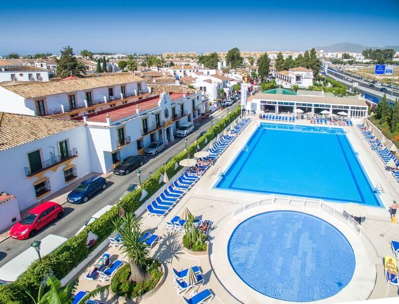 globales pueblo andaluz hotel puerto banus costa del sol