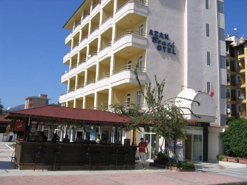 Holidays at Azak Beach Hotel in Alanya, Antalya Region
