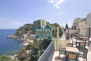 Holidays at Villa Bianca Resort Hotel in Taormina, Sicily