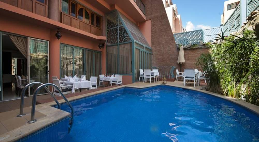 Holidays at Le Caspien Hotel in Marrakech, Morocco