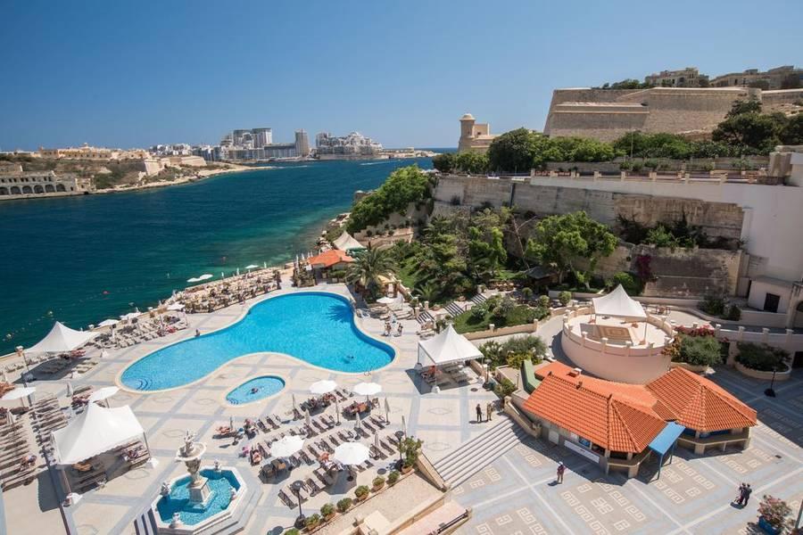 Excelsior Grand Hotel Malta Valletta Malta Book