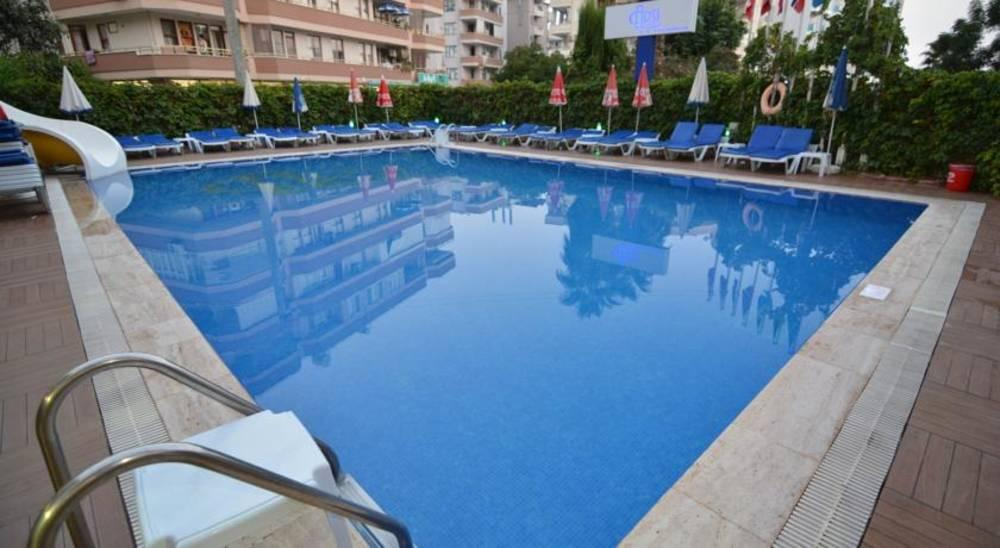 Holidays at Arsi Hotel in Alanya, Antalya Region