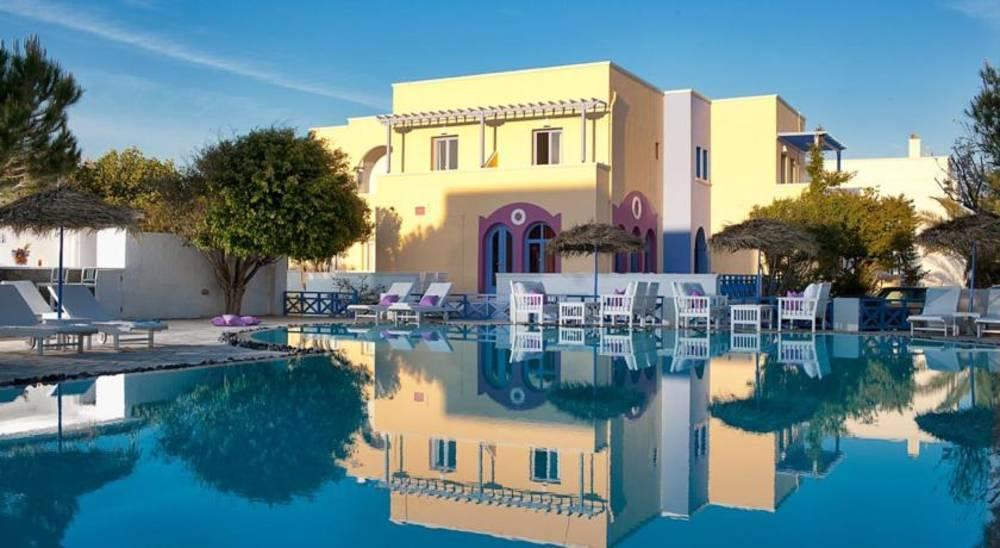 Holidays at Acqua Vatos Hotel in Kamari, Santorini