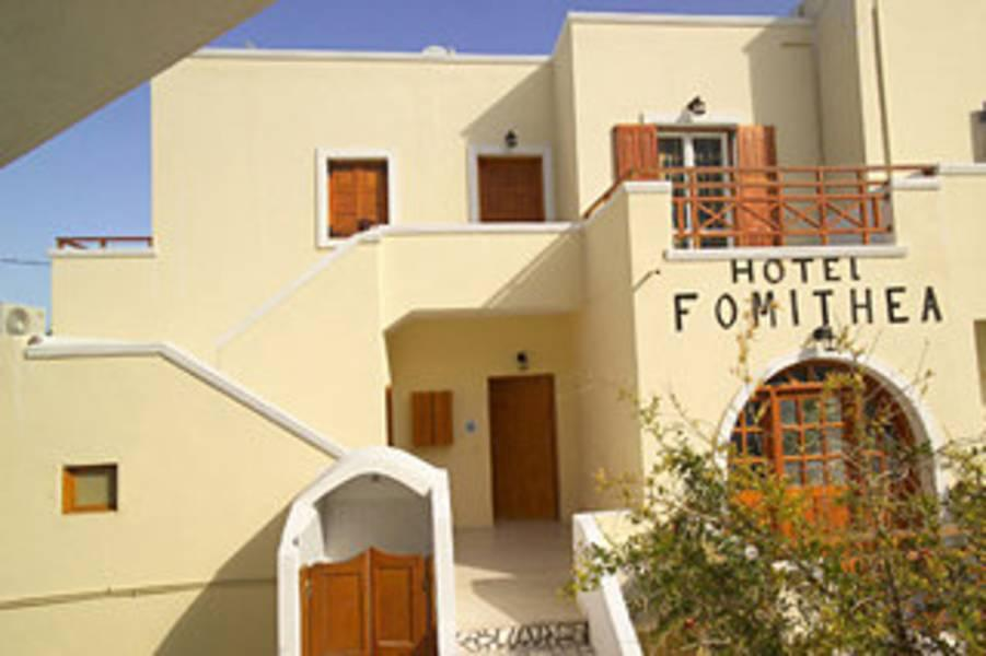 Holidays at Fomithea Hotel in Kamari, Santorini