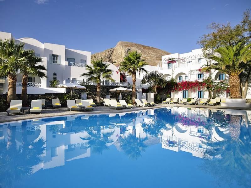 Holidays at Santorini Kastelli Resort in Kamari, Santorini