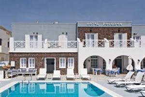 Holidays at Poseidon Beach Hotel in Kamari, Santorini